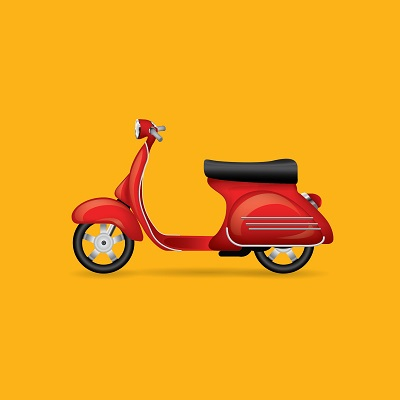 מצבר לקטנוע 125